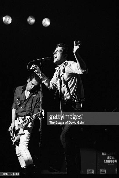 The Clash performs at The Palladium on February 17, 1979 in New York City, New York.