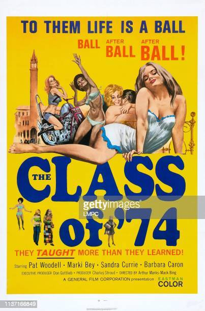 The Class Of '74 poster US poster Marki Bey 1973