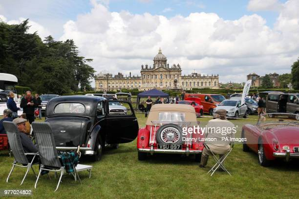 The Classic Car amp Motor Show at Castle Howard in Yorkshire