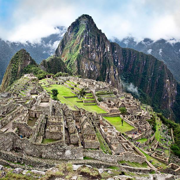 The Classic Shot Of Machu Picchu Wall Art