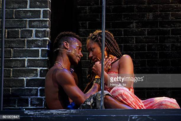 """The Classical Theater of Harlem presents Shakespeare's """"Romeo N Juliet,"""" adopted and directed by Justin Emeka, at Richard Rodgers Amphitheater on..."""