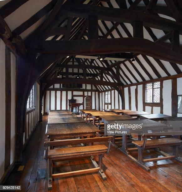 The classroom Shakespeare's Schoolroom StratforduponAvon United Kingdom Architect Wright Wright Architects LLP 2016