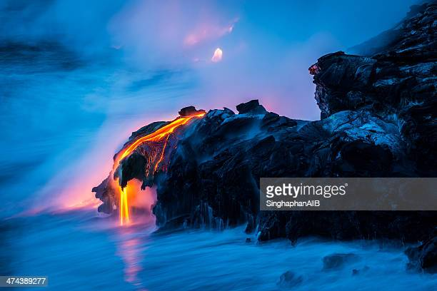 the claw of lava - lava stock pictures, royalty-free photos & images