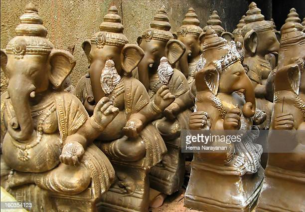 the clay gods - hema narayanan stock pictures, royalty-free photos & images