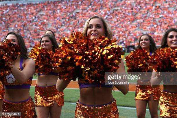The Clemson Rally Cats perform during a college football game between Florida State Seminoles and the Clemson Tigers on October 12 at Clemson...