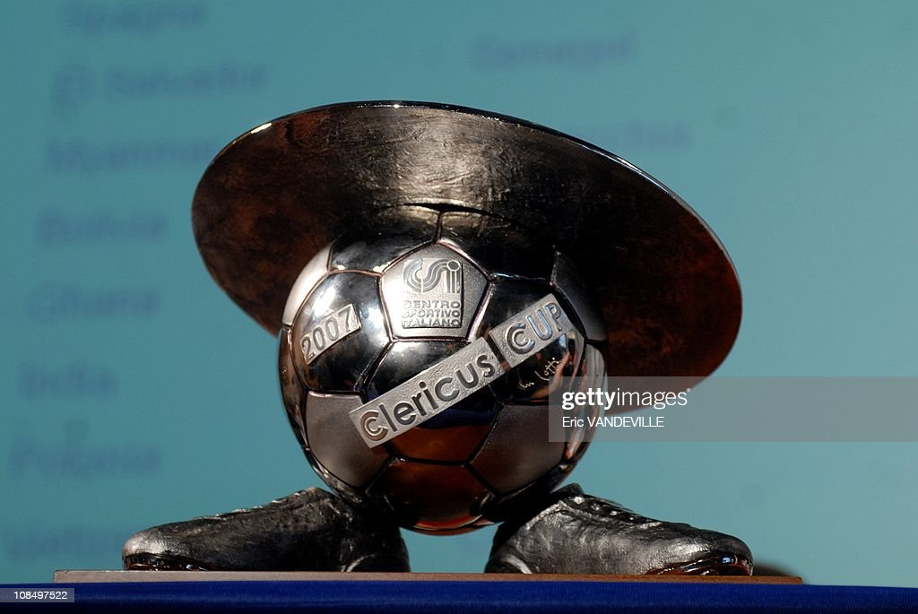 The Clericus Cup. Presentation During A News Conference In