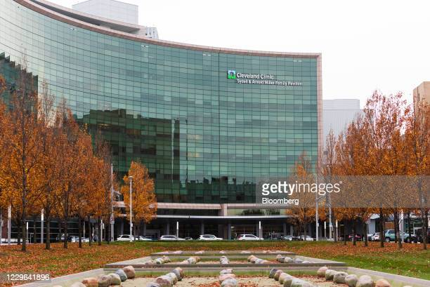 The Cleveland Clinic in Cleveland, Ohio, U.S., on Saturday, Nov. 14, 2020. On Sunday, the Ohio Department of Health reported a total of 298,096 cases...