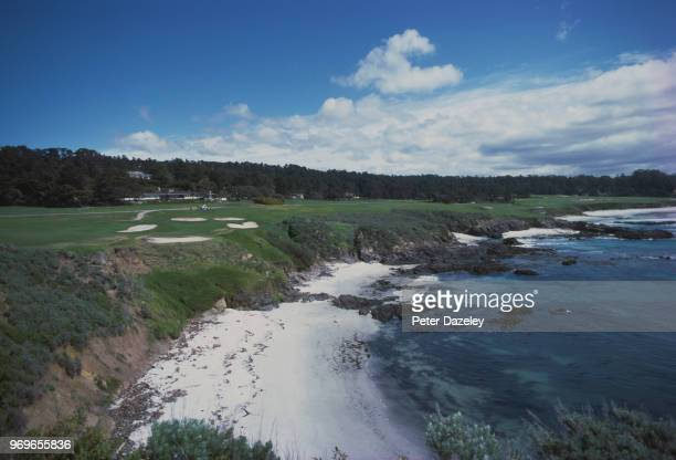 The Cliffs at the Pebble Beach Golf Course in California 1980