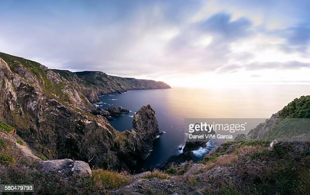 The cliffs of Cabo Ortega