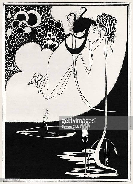 ' The Climax ' Aubrey Beardsley 's illustration for ' Salome ' by Oscar Wilde first performed in England on 10 May 1905 Richard Strauss 's opera...