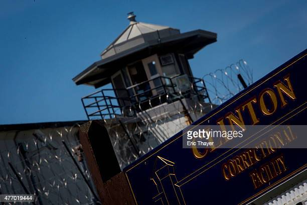 The Clinton Correctional Facility is seen on June 13, 2015 in Dannemora, New York. Law enforcement announced the arrest of Joyce Mitchell as they...