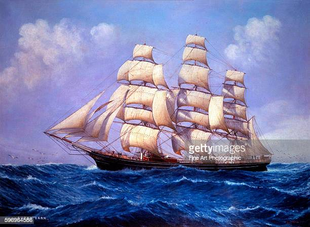 The Clipper Ship Cutty Sark by Louis Papaluca