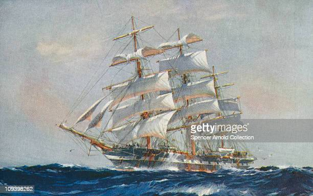 The clipper ship 'Piako' 1926 By Jack Spurling
