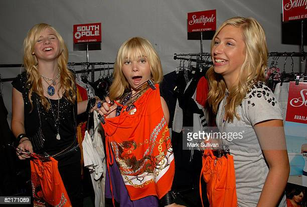 The Clique Girlz attend the Mattel Celebrity Retreat produced by Backstage Creations at Teen Choice 2008 on August 3 2008 in Universal City California