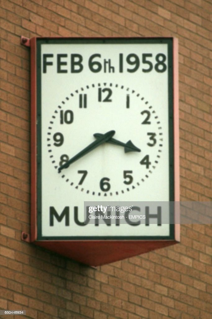Soccer Manchester United Munich Air Disaster Pictures Getty Images