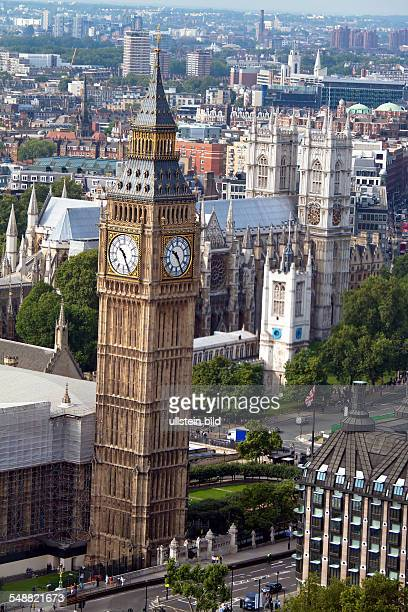 The Clock Tower Big Ben in London England