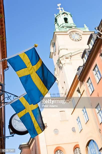The Clocktower of Storkyrkan, Stockholm, Sweden