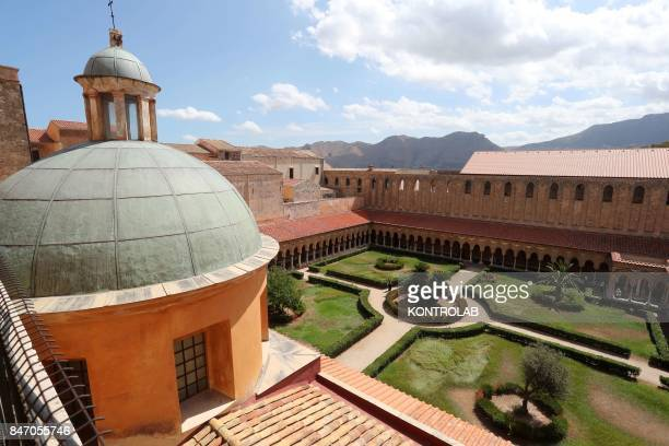 The cloister of the Cathedral of Monreale