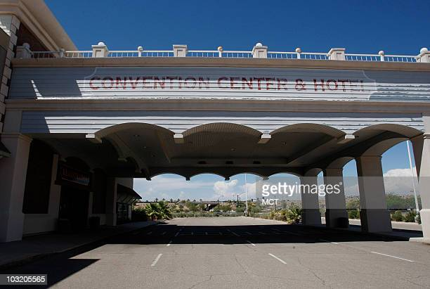 The closed Convention Center Hotel is pictured July 23 2010 in Mesquite Nevada Typical of the state is the fate of Mesquite This chunk of desert...