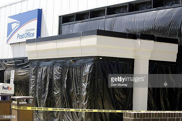 The closed John K Rafferty Postal facility is shown August 21 2002 in Hamilton New Jersey A temporary office has been open nearby since anthrax was...