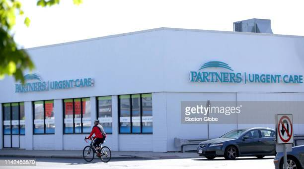 The closed Partners HealthCare Urgent Care Center in Medford MA is pictured on May 8 2019 The states largest health care provider has closed two of...