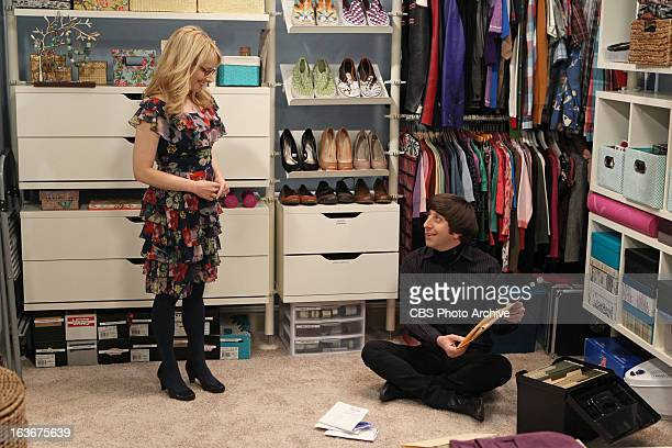 'The Closet Reconfiguration' Howard struggles with whether or not he should open a letter from his father on THE BIG BANG THEORY Thursday March 14 on...