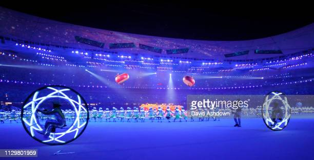 The closing ceremony of the Summer Olympic Games in Beijing China 24th August 2008