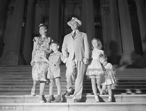 The closing session of Congress is always an interesting event, and this time the family of Representative Hale Boggs of Louisiana had ringside seats...