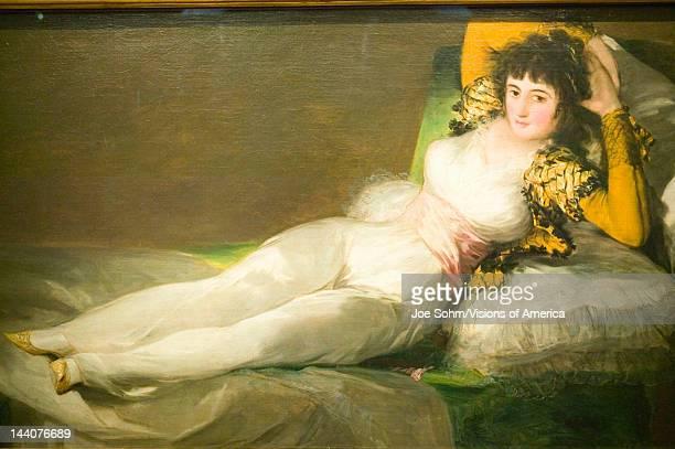 The Clothed Maja Duchess of Alba by Francisco de Goya as shown in the Museum de Prado Prado Museum Madrid Spain