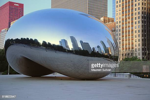 The Cloud Gate a stainless sculpture by Anish Kapoor in Chicago's Millennium Park A popular landmark it was completed in 2004