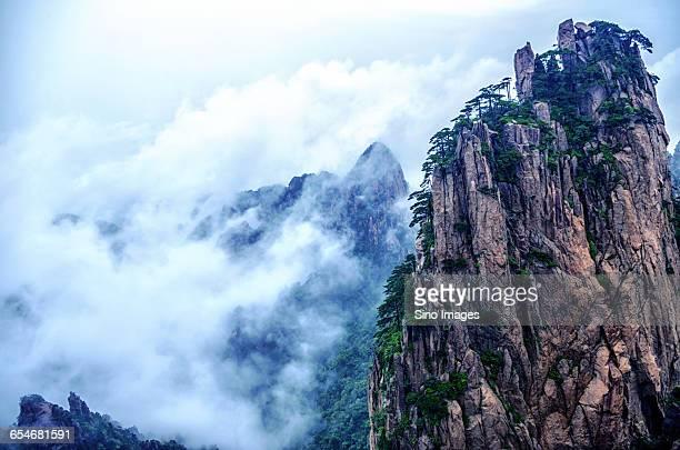 The Cloud in Mount Huangshan