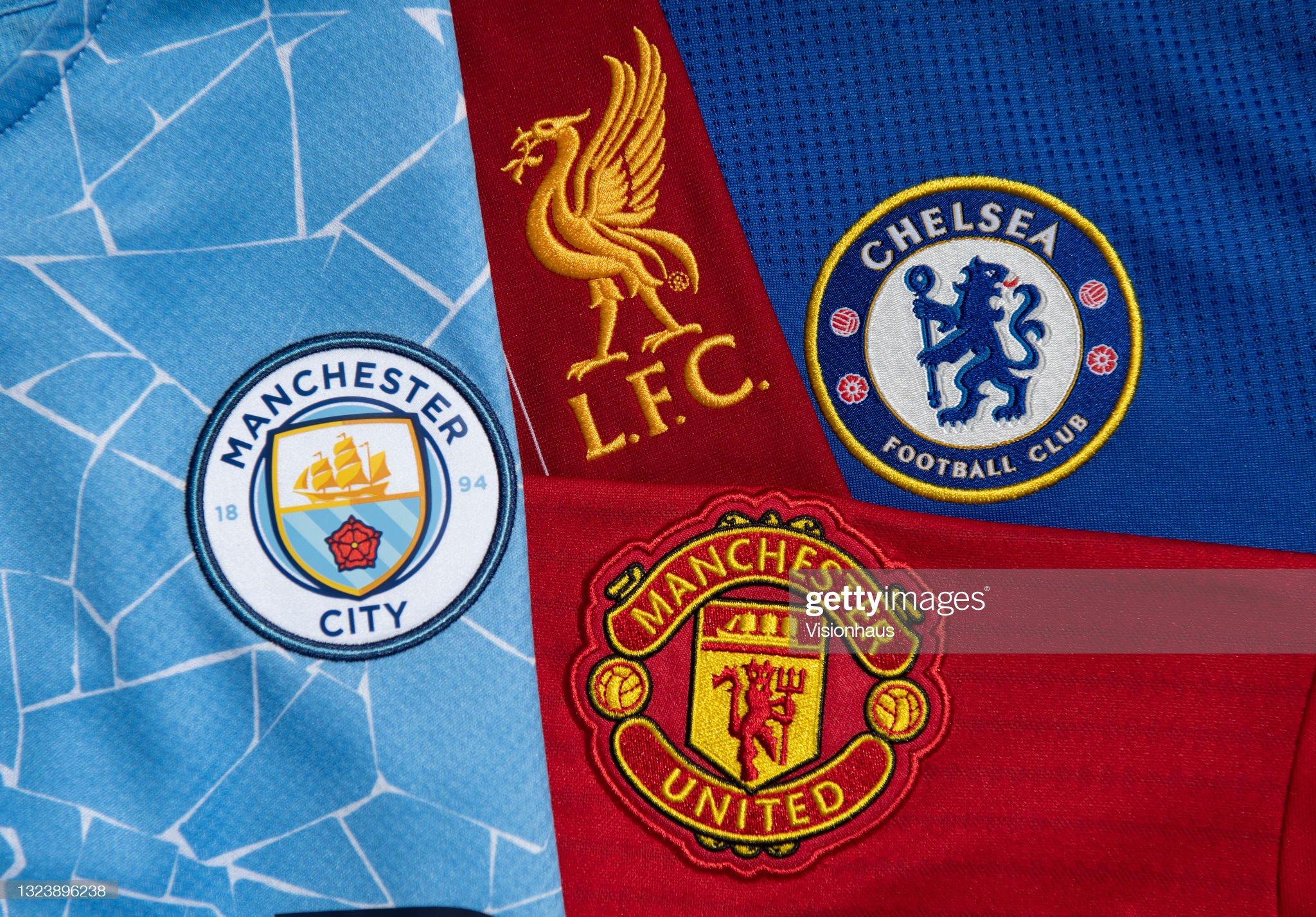 Premier League title challengers' season 2021/22