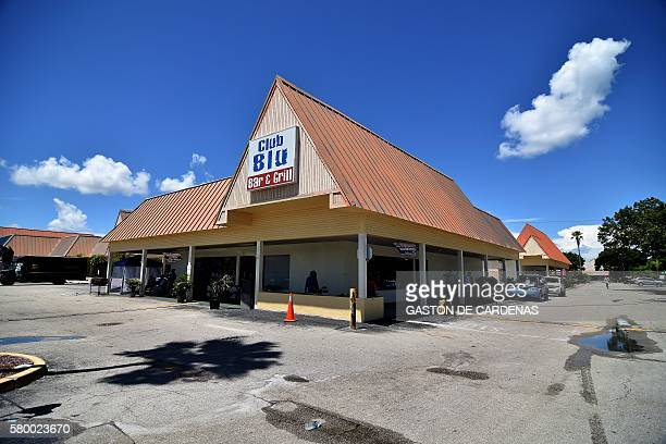 The Club Blu is seen on July 25 2016 in Fort Myers Florida Two youths were killed and as many as 16 other people injured early July 25 2016 in a...