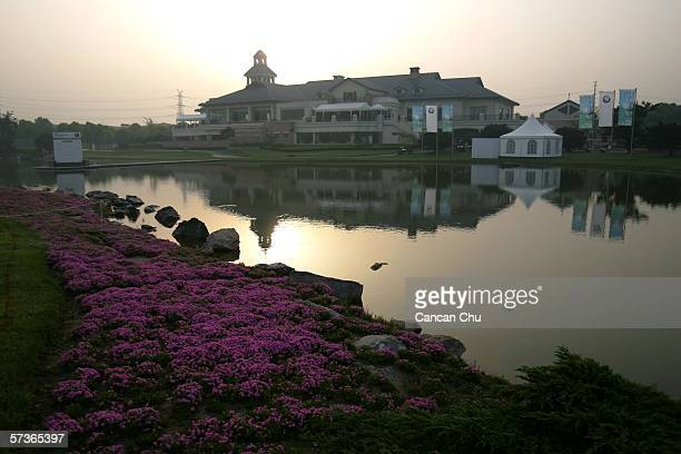 The club house of the Tomson Golf Club during the sunrise before the ProAM competition of the BMW Asian Open 2006 at the Tomson Golf Club April 19...