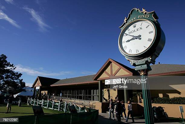 The clubhouse is seen prior to the start of the second round of the Buick Invitational at the Torrey Pines Golf Course on January 25, 2008 in La...