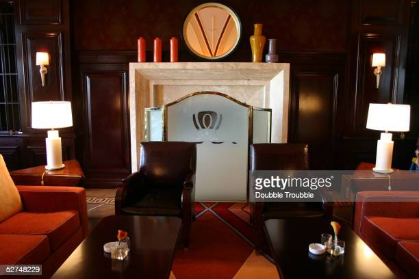 The clubhouse lounge at developer Steve Wynn's 27 billion dollar resort Wynn Las Vegas on April 29 2005 in Las Vegas The golf course clubhouse with...