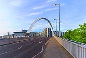 clyde arc bridge squinty bridge crossing