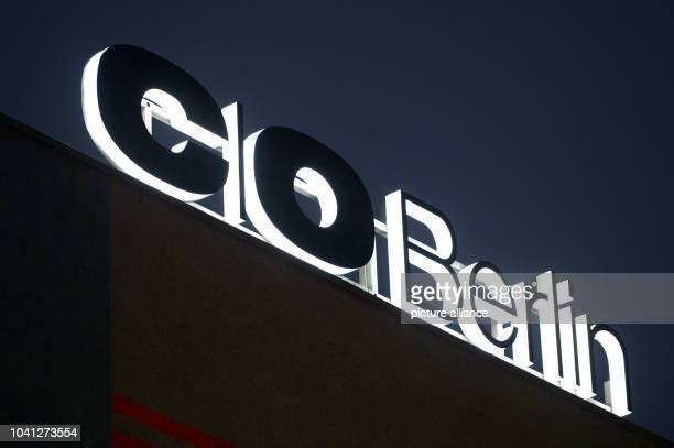 The C/O Berlin sign is litup on the new exhibition rooms of C/O Berlin in Amerika Haus in BerlinGermany 30October 2014 C/OBerlin in a worldrenown...