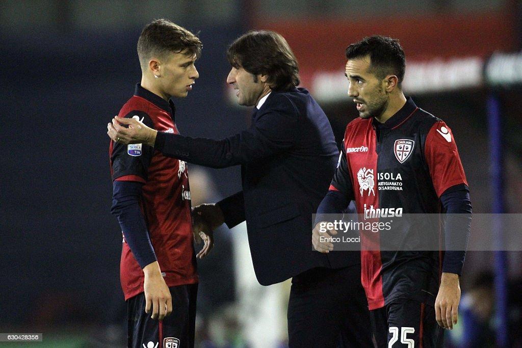 Cagliari Calcio v US Sassuolo - Serie A : News Photo