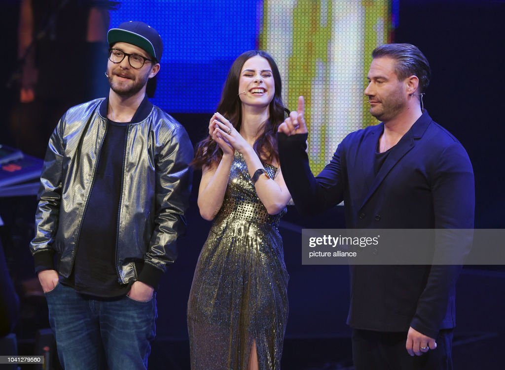 The Coaches Mark Forster Lena Meyer Landrut And Sasha Pose During News Photo Getty Images