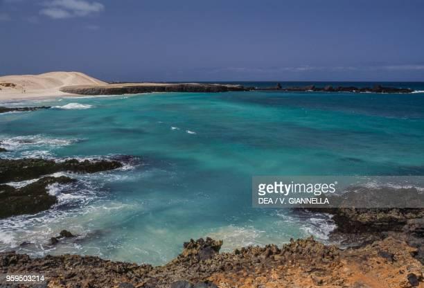The coast near Sal Rei Boa Vista Island Cape Verde