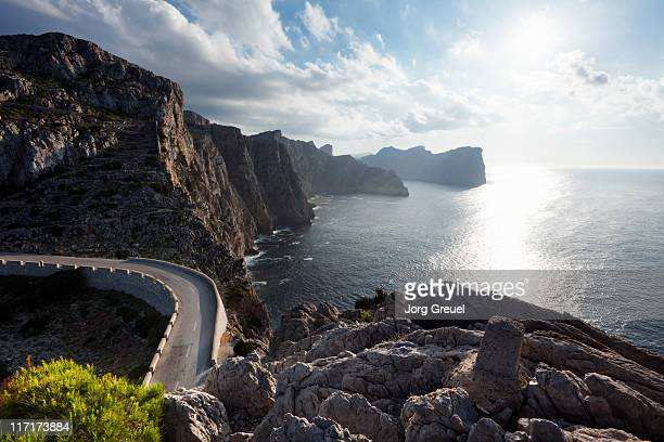 The coast of Formentor peninsula