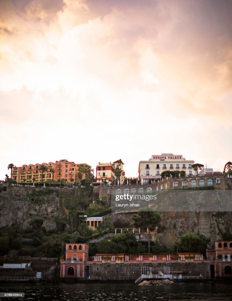 The coast of Sorrento : Stock Photo
