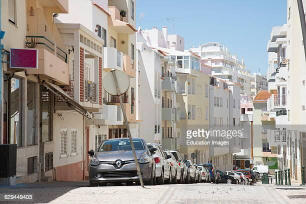 The coastal Algarve town of Armacao de Pera southern Portugal