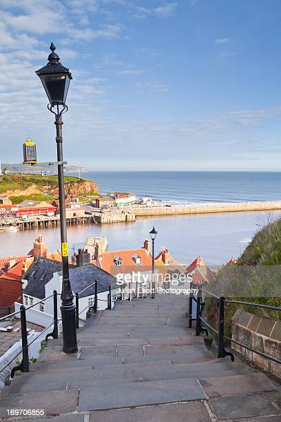 The coastal town of Whitby in the North York Moors