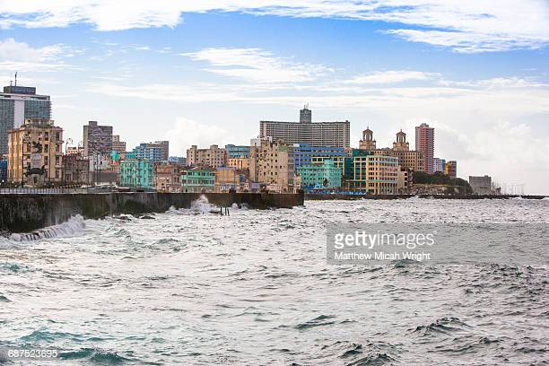 The coastline of New Havana City.