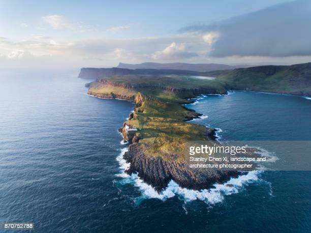 The coastline of Scotland