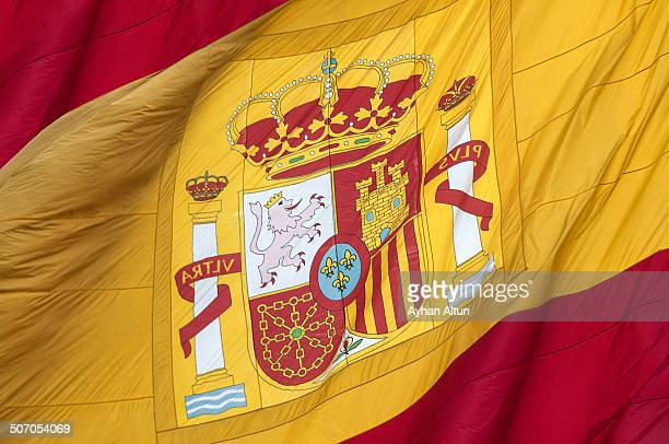The coat of arms of Spainish Flag