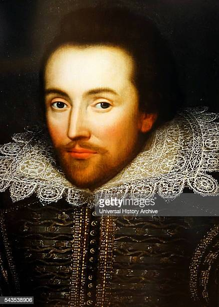 The Cobbe portrait an early Jacobean panel painting of a gentleman thought to have been William Shakespeare Dated 17th Century
