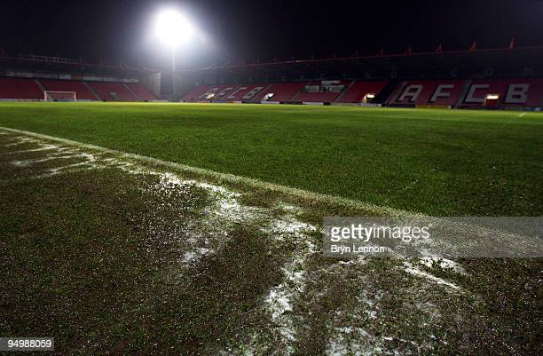 The Coca-Cola League Two match between AFC Bournemouth and Notts County was called off due to a frozen pitch at the Fitness First Stadium, on...